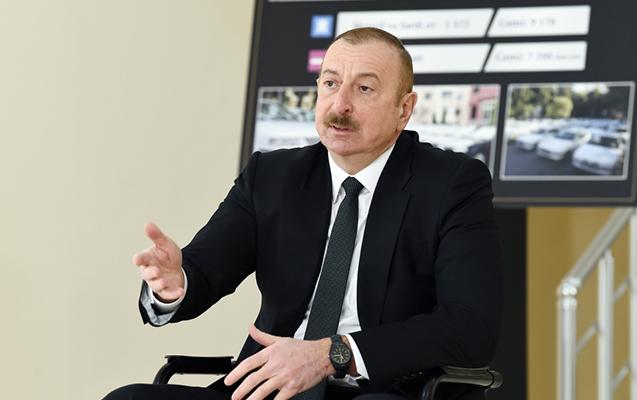 """""""Azərbaycan-Ermənistan sərhədində vəziyyət sabitdir"""" - Prezident"""