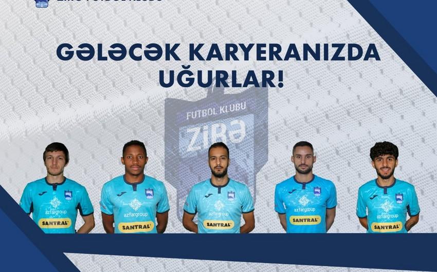 """""""Zirə"""" 5 futbolçu ilə yollarını ayırdı - RƏSMİ MƏLUMAT"""