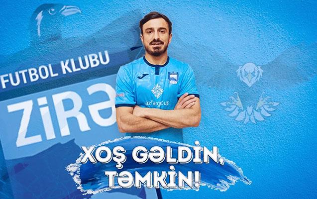 Təmkin Xəlilzadənin yeni klubu rəsmən açıqlandı