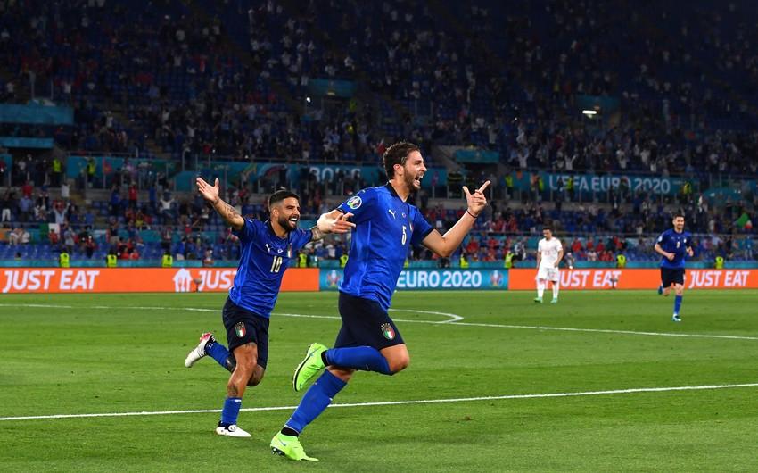 İtaliya 3:0-la AVRO-2020-də ilk 1/8 finalçı oldu - VİDEO