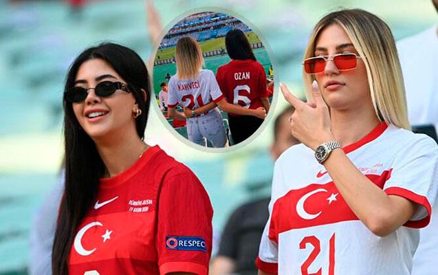 Türkiyəli xanımlar həyat yoldaşlarını Bakıda belə izlədi - VİDEO+FOTOLAR