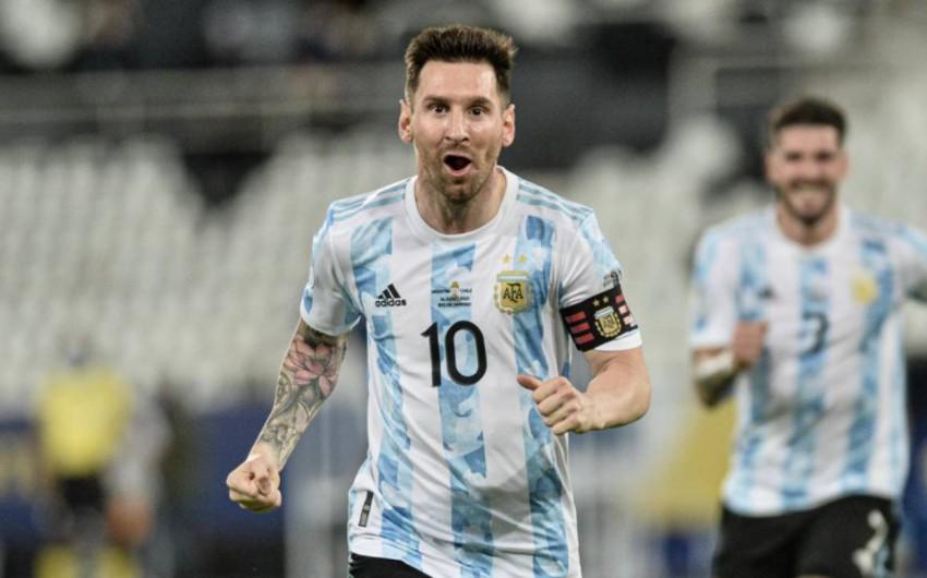 Messi qol pası verdi, Argentina Uruqvaya qalib gəldi - VİDEO