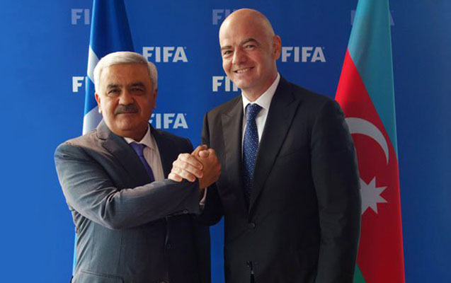 FIFA prezidenti Bakıya gəlir