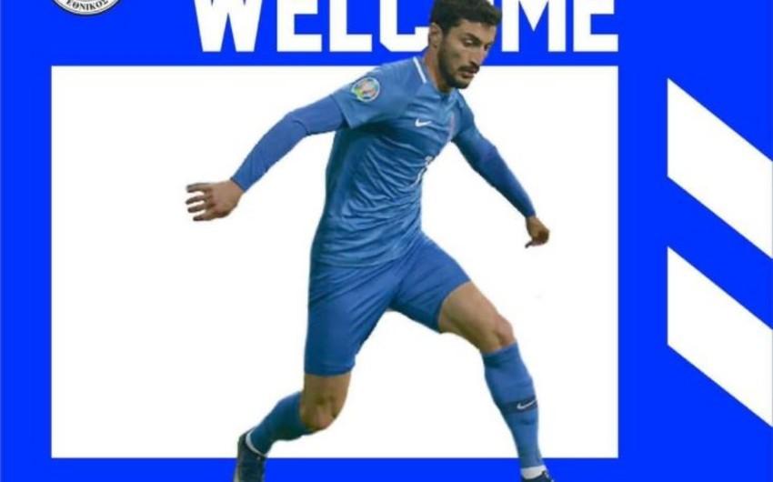 Azərbaycan millisinin futbolçusu Kipr klubunda