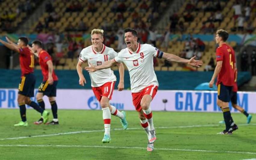 İspaniya penaltini qaçırdı, Polşa ilə 1:1-ə razılaşdı - VİDEO
