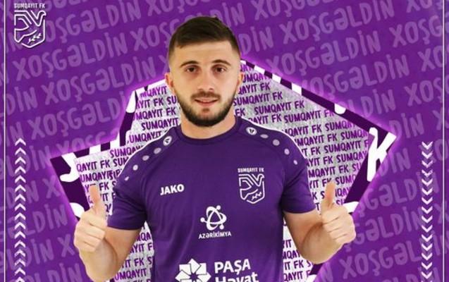 """""""Sumqayıt""""dan yeni transfer - rəsmi"""