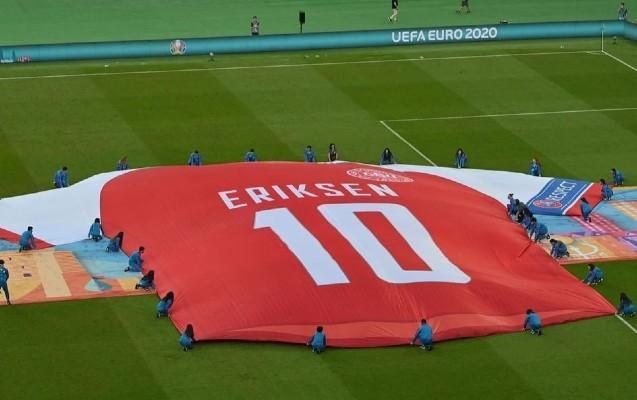 Eriksen Bakıda belə xatırlandı - FOTOLAR