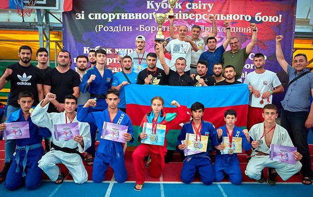 Azərbaycan komandası dünya kubokunda uğur qazandı - FOTOLAR