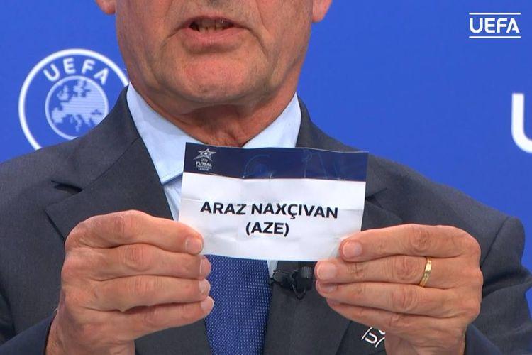 """""""Araz Naxçıvan""""ın ÇL-də rəqibləri məlum oldu"""