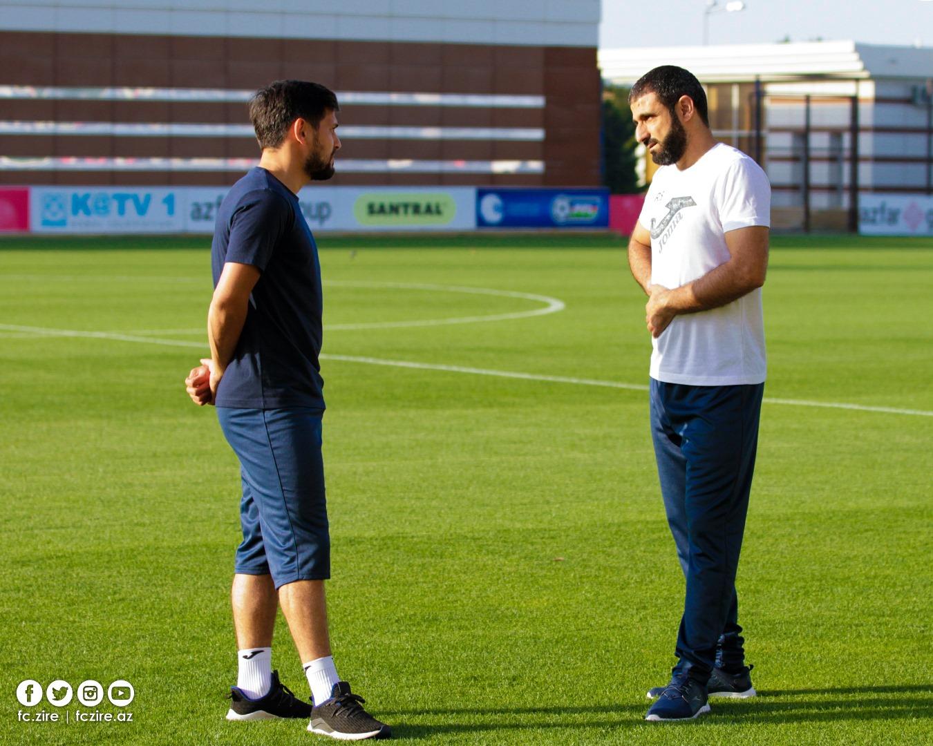 """Rəşad Sadıqov: """"Əsas olan futbolçuların yüklənməsi idi"""""""