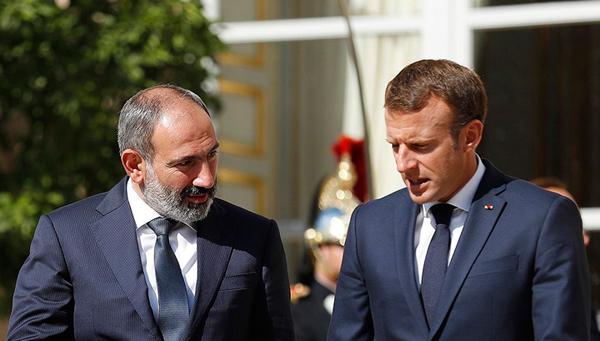 """Ermənistanın """"böyük bacısı""""- Makronu Yerevana çəkən nədir?"""