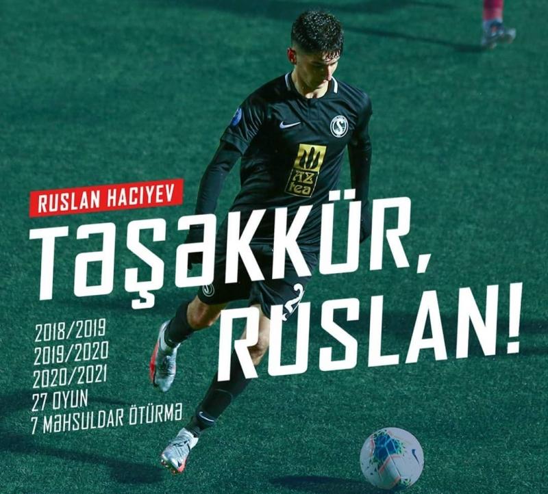Azərbaycanı tərk edən futbolçumuzun sözü var