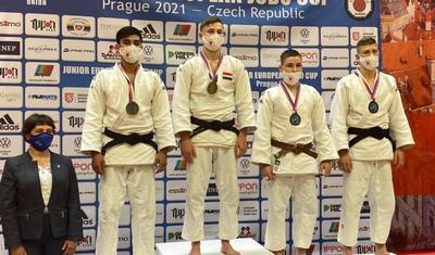 Azərbaycan cüdoçuları Avropa Kubokuna 3 medalla başladı -