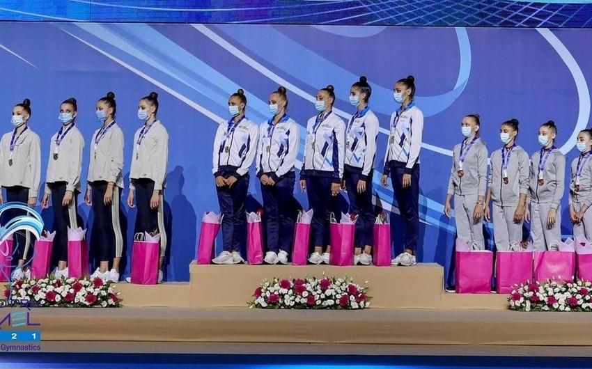 Azərbaycanın millisi Qran-pridə ilk medalını qazandı