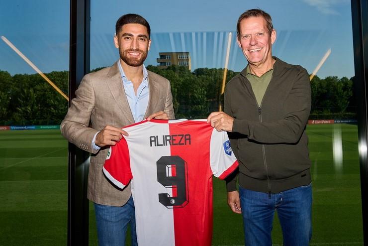 """İranlı vinger Premyer Liqa klubunu """"Feyenoord""""a dəyişdi"""