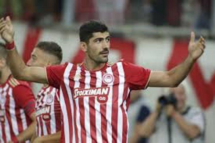 """""""Olimpiakos""""un kapitanı """"Neftçi"""" ilə oyunu yarımçıq tərk etdi"""