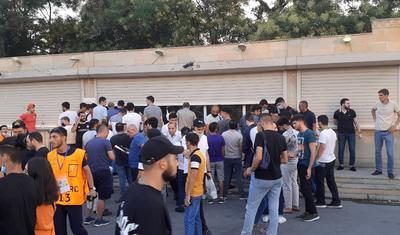 """""""Qarabağ""""ın oyunu öncəsi stadionda yaşananlar"""