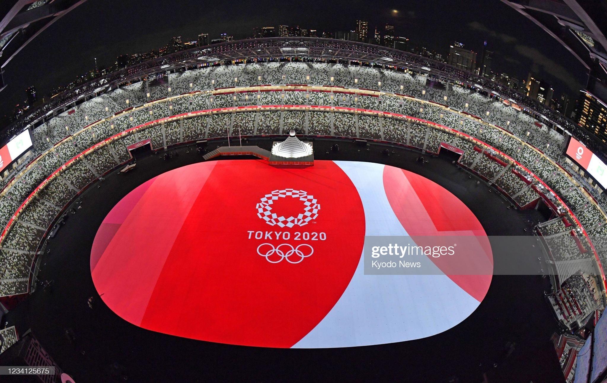 Olimpiadanın açılış mərasimindən maraqlı VİDEO+FOTOLAR