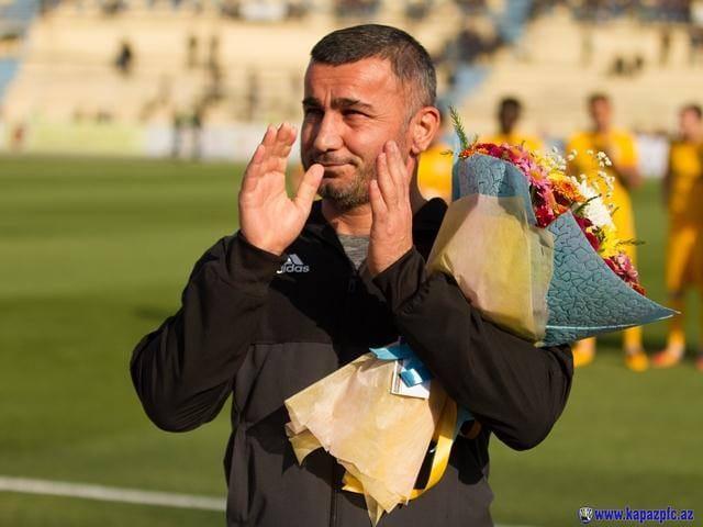 Qurban Qurbanov Gəncə futboluna sahib çıxdı