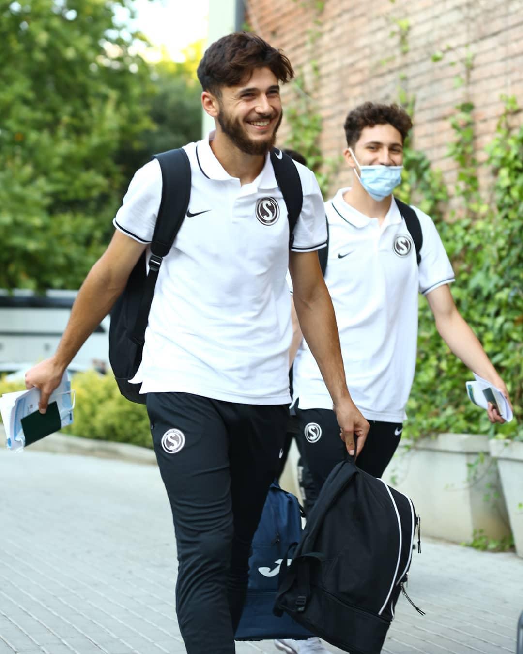 Azərbaycanlı futbolçular qonşu torpağında - FOTOLAR