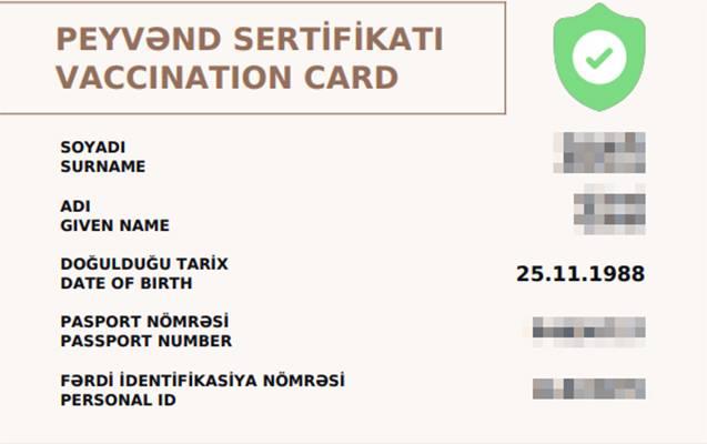 COVİD-19 pasportları ilə bağlı tətbiqetmə istifadəyə veriləcək