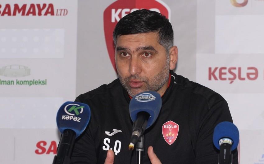"""""""Futbolçularım da sabahı səbirsizliklə gözləyir"""" - Sənan Qurbanov"""