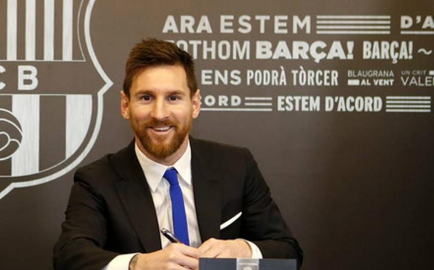 """Lionel Messi """"Barselona"""" ilə müqaviləsini yeniləyəcək - TEZLİKLƏ"""