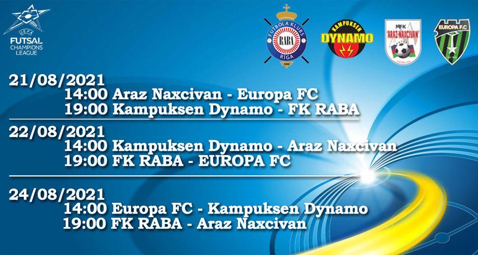 Naxçıvan klubu bü gün 2-ci oyuna çıxır: Çempionlar Liqasında