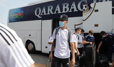"""""""Qarabağ"""" getdi -"""