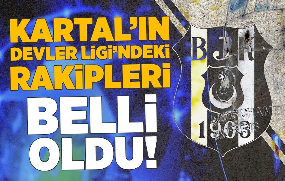 """""""Beşiktaş"""" kimlərlə üz-üzə gələcək? - ÇL-in qrup mərhələsinin püşkü atıldı"""