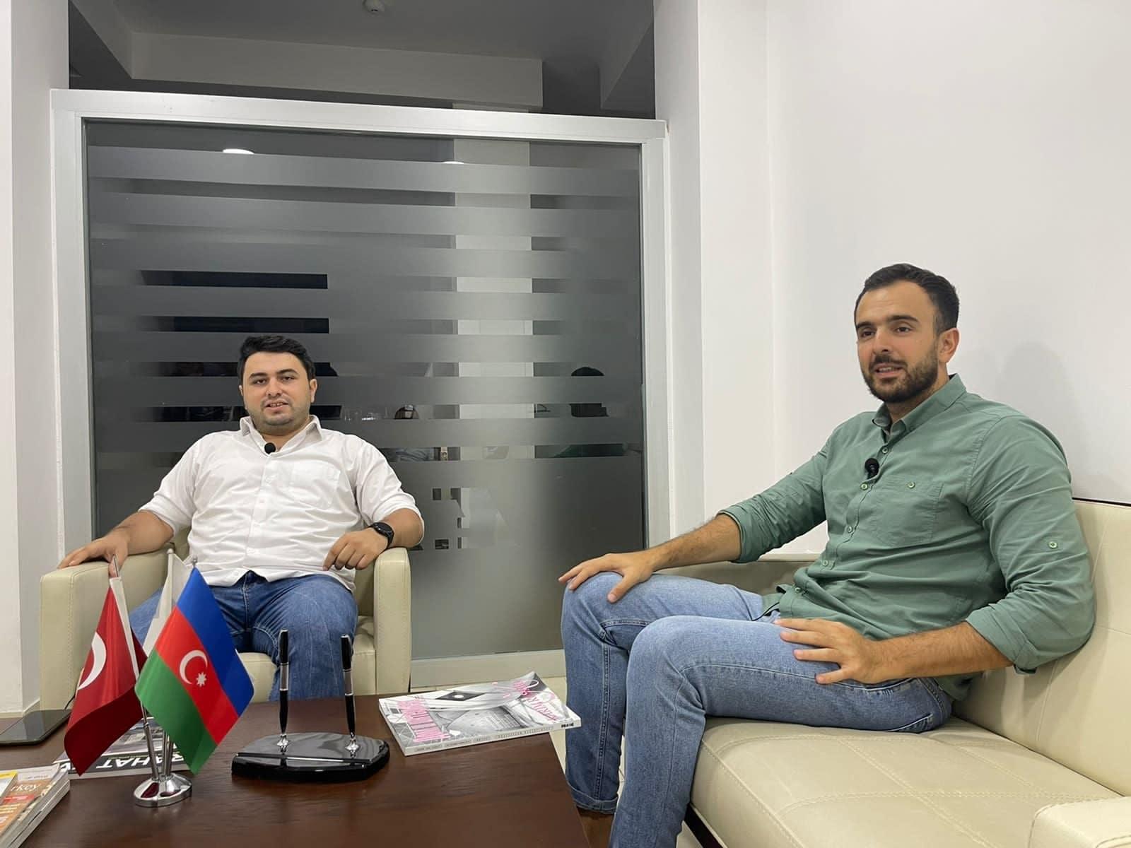 """""""Sportinfo TV"""" qayıtdı, ilk qonaq… FOTO"""
