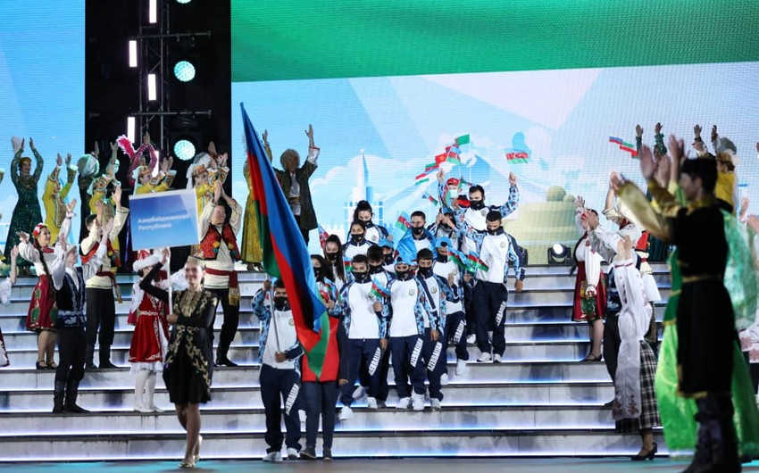 Azərbaycan 60 medalla 4-cü yeri tutdu - MDB Oyunlarında