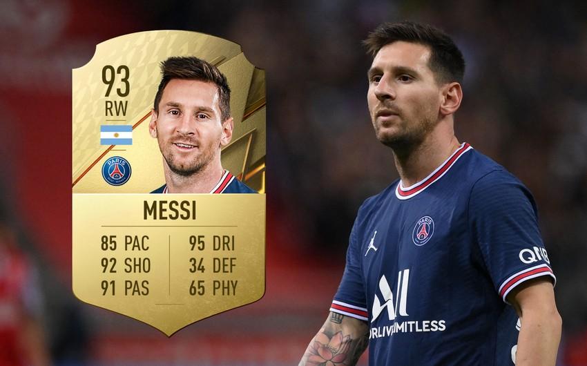 Messi Ronaldo və Levandovskini qabaqladı FIFA 2022-də