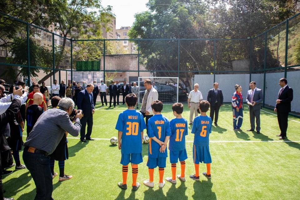 Deputat futbol üçün daha bir təşəbbüs göstərdi - FOTOLAR