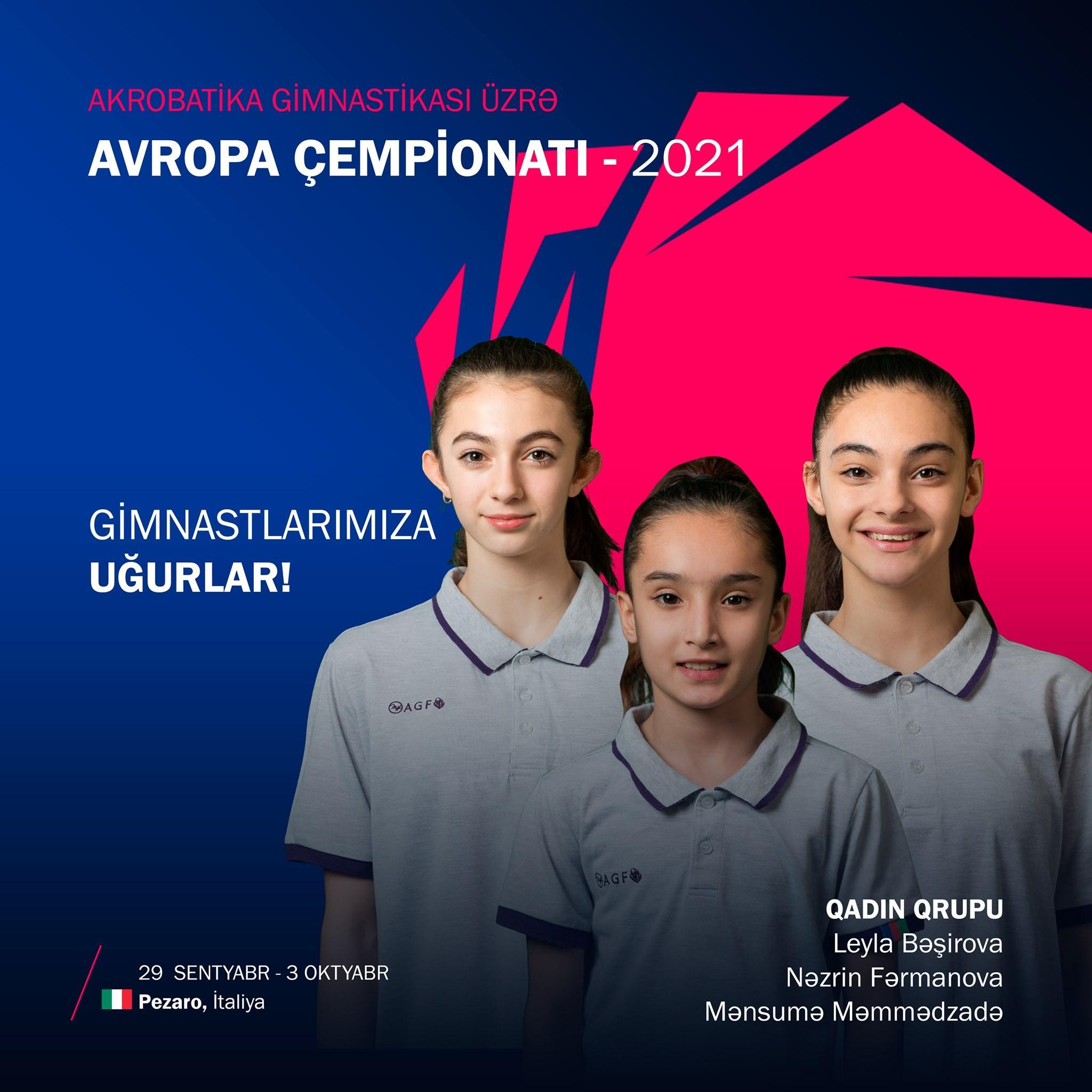 Avropa çempionatında çıxış edəcək azərbaycanlıların adları - FOTOLAR