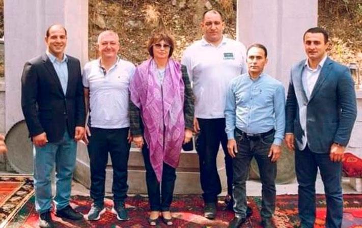 Azərbaycanlı Olimpiya çempionları Şuşaya aparıldı - FOTO