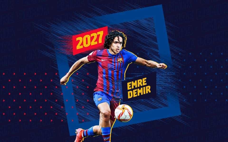 """""""Barselona"""" 17 yaşlı türkiyəli istedadı 2 milyona transfer etdi"""