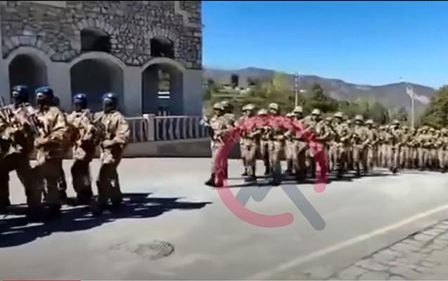 Anım Günü Şuşada hərbi parad keçirildi - VİDEO