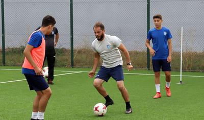 Elxan Məmmədov Tovuzda futbol oynadı -