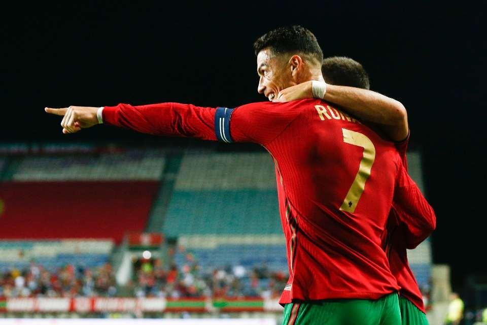 Ronaldo yığmamızın qrupunda het-trik etdi - VİDEO